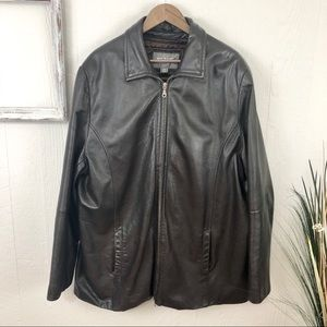 Wilson Leather Dark Brown 3M Coat